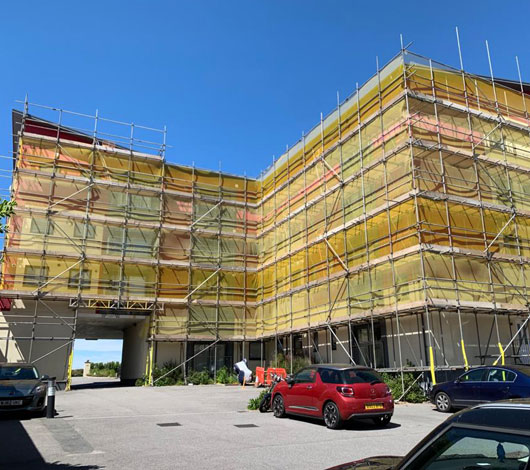 Domestic and Commercial Scaffolding  for Plymouth Devon and Cornwall